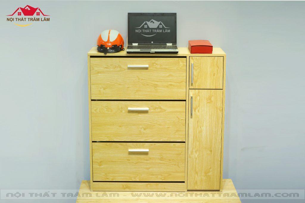 Tủ giầy gỗ thông minh TG1 Nội thất Trâm Lâm (Ảnh 1)