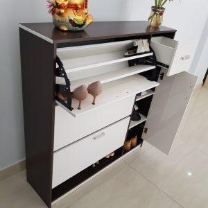 Tủ giầy thông minh nhựa Đài Loan TN2 Nội thất Trâm Lâm (Ảnh 1)