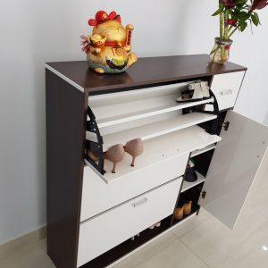 Tủ giầy thông minh nhựa Đài Loan TN2 Nội thất Trâm Lâm (Ảnh 7)