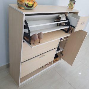 Tủ giầy thông minh nhựa Đài Loan TN3 Nội thất Trâm Lâm (Ảnh 2)