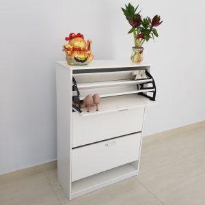 Tủ giầy thông minh nhựa Đài Loan - TN80 Nội thất Trâm Lâm (Ảnh 4)