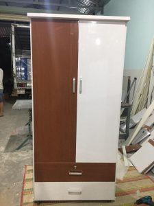 Tủ quần áo nhựa 2 cánh TC2 Nội thất Trâm Lâm (Ảnh 5)