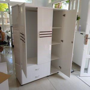 Tủ quần áo nhựa Đài Loan TQA009 Nội thất Trâm Lâm (Ảnh 1)