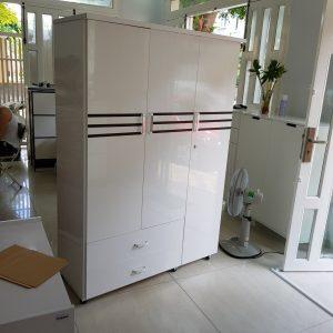 Tủ quần áo nhựa Đài Loan TQA009 Nội thất Trâm Lâm (Ảnh 2)