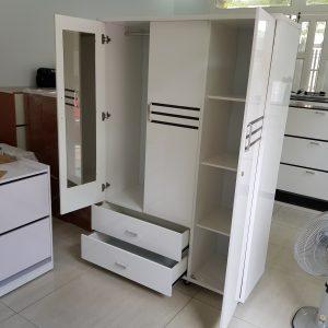 Tủ quần áo nhựa Đài Loan TQA009 Nội thất Trâm Lâm (Ảnh 3)