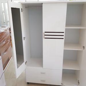 Tủ quần áo nhựa Đài Loan TQA009 Nội thất Trâm Lâm (Ảnh 4)