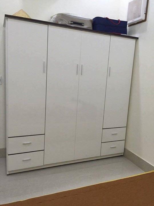 Tủ quần áo nhựa Đài Loan TQNT1 Nội thất Trâm Lâm (Ảnh 4)