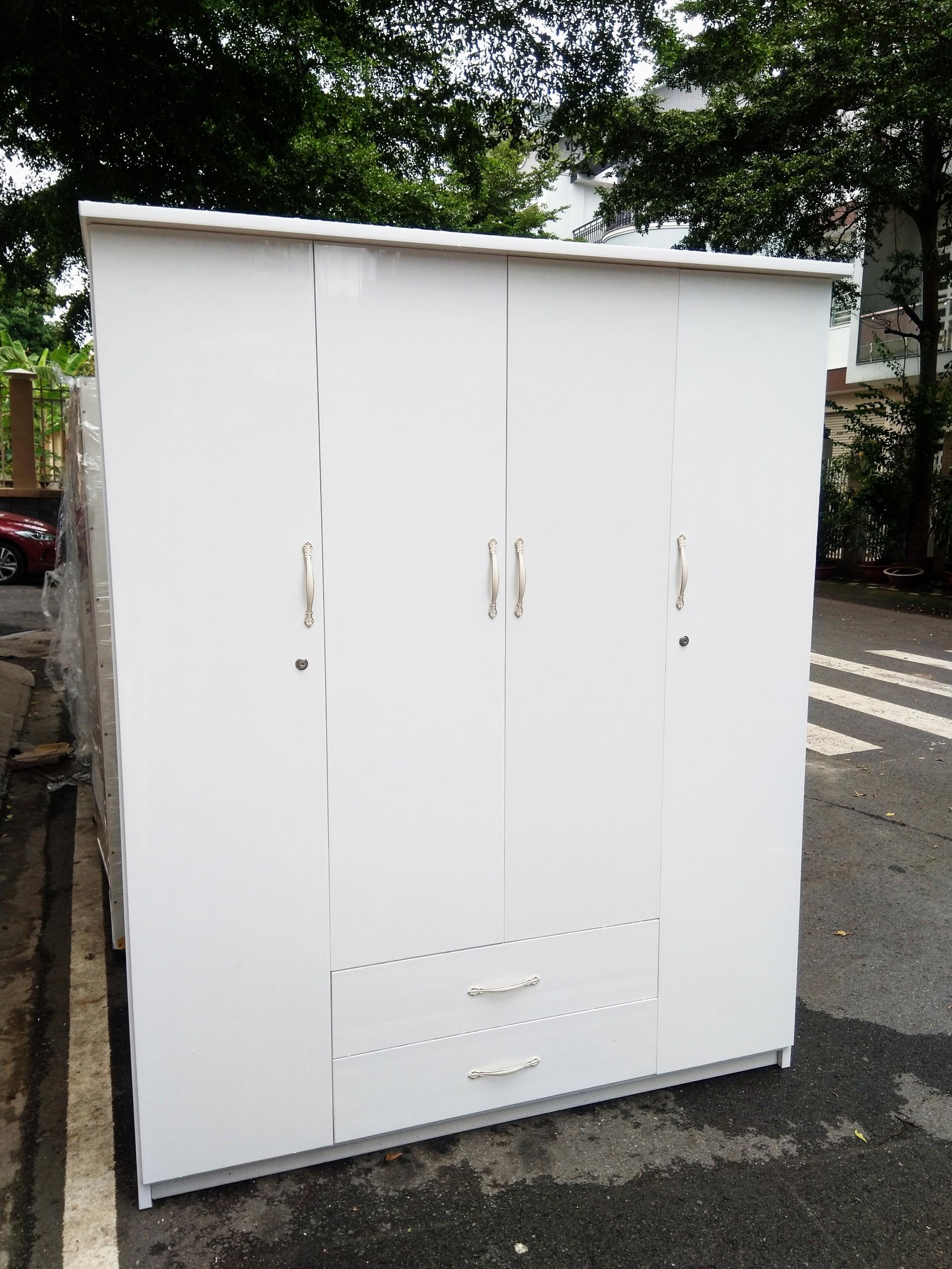 Tủ quần áo nhựa Đài Loan TQNT1 Nội thất Trâm Lâm (Ảnh 1)