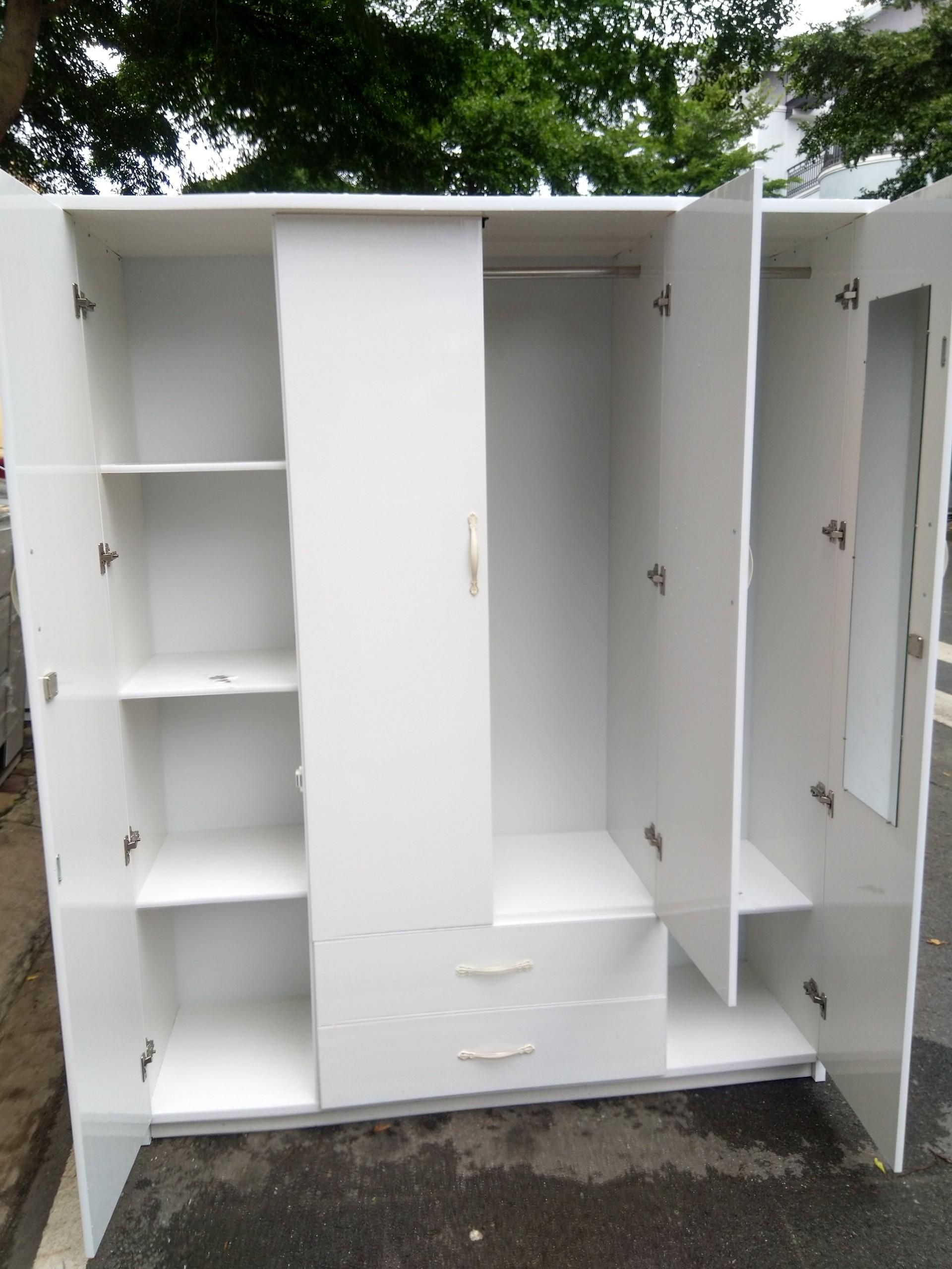 Tủ quần áo nhựa Đài Loan TQNT1 Nội thất Trâm Lâm (Ảnh 2)