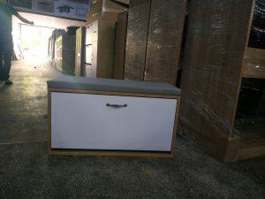 Tủ giầy gỗ 1 tầng ngồi được Nội thất Trâm Lâm (Ảnh 1)