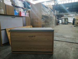 Tủ giầy gỗ 1 tầng ngồi được Nội thất Trâm Lâm (Ảnh 3)