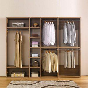 Tủ quần áo nhựa TQAKC11A Nội thất Trâm Lâm (Ảnh 1)
