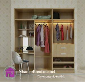 Tủ quần áo nhựa TQAKC11A Nội thất Trâm Lâm (Ảnh 5)