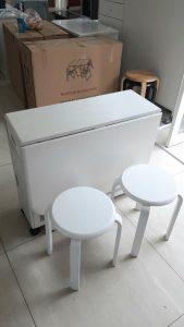 Bộ bàn ăn thông minh + 4 ghế tự nhiên Nội thất Trâm Lâm (Ảnh 2)