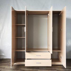 Tủ quần áo nhựa TQA4HQ Nội thất Trâm Lâm (Ảnh 3)