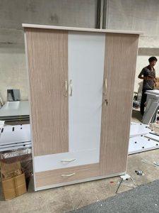Tủ quần áo nhựa đài loan TQA105 Nội thất Trâm Lâm (Ảnh 1)