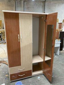 Tủ quần áo nhựa đài loan TQA105 Nội thất Trâm Lâm (Ảnh 2)