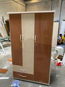Tủ quần áo nhựa đài loan TQA105 Nội thất Trâm Lâm (Ảnh 4)