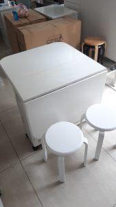 Bộ bàn ăn thông minh + 4 ghế tự nhiên Nội thất Trâm Lâm (Ảnh 3)