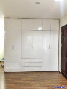 Tủ quần áo nhựa đài loan TQA245 Nội thất Trâm Lâm (Ảnh 1)