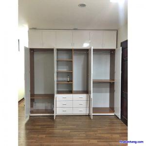 Tủ quần áo nhựa đài loan TQA245 Nội thất Trâm Lâm (Ảnh 2)