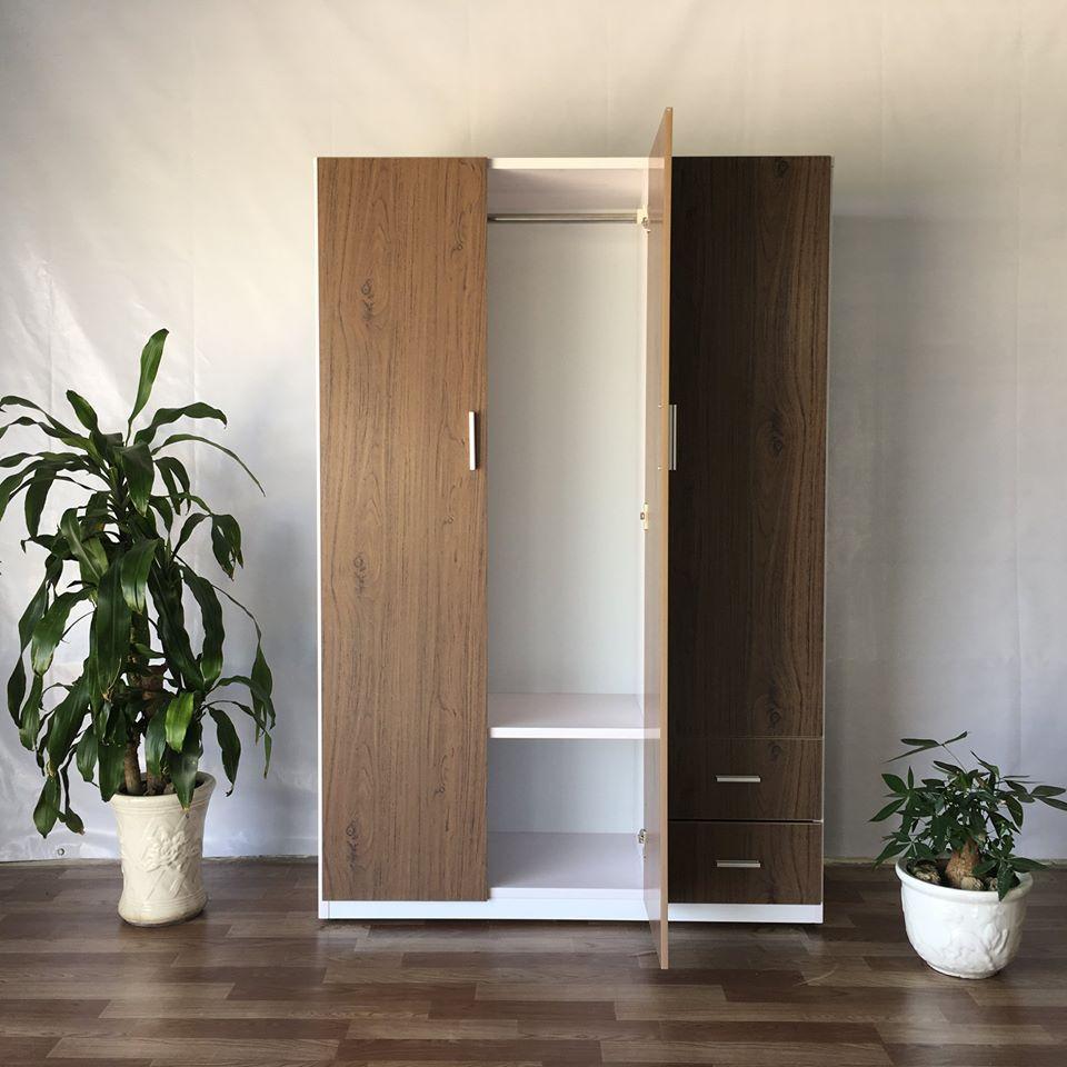 Tủ quần áo nhựa Đài Loan T0012 Nội thất Trâm Lâm (Ảnh 2)