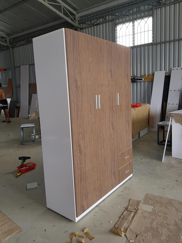 Tủ quần áo nhựa Đài Loan T0012 Nội thất Trâm Lâm (Ảnh 1)
