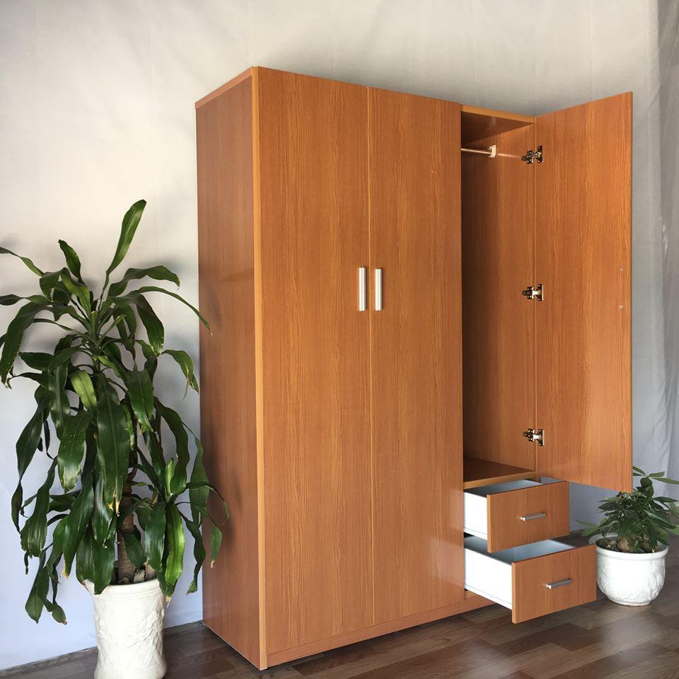 Tủ quần áo nhựa Đài Loan TQ129 Nội thất Trâm Lâm (Ảnh 3)